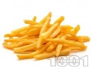Бланширани картофи във фритюрник